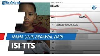 Nama Unik ABCDEF GHIJK Zuzu Viral di Media Sosial, Ternyata Berawal dari Orangtua Gemar Isi TTS