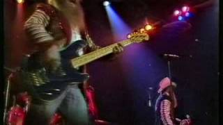 ZZ Top blues number  Jesus just left Chicago live 1982