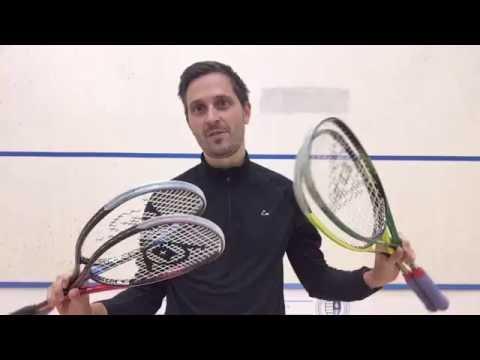 Dunlop Precision Squash Rackets Review