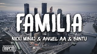 Nicki Minaj, Anuel AA & Bantu - Familia (Lyrics) (Spider-Man: Into the Spider-Verse)