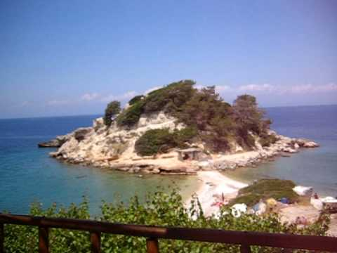 Kokkari , Samos , Greece : nice view from taverna