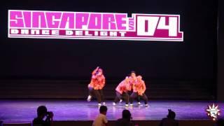 Flipendemic Kru @ Singapore Dance Delight Vol. 4 FINALS