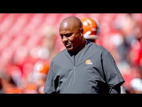 Browns TE David Njoku on How Team Responded to Hue Jackson Firing   The Rich Eisen Show   7/2/19