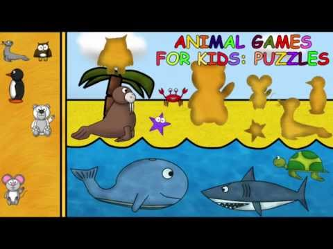 Video of Animal Games for Kids: Puzzles