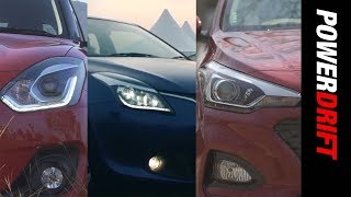 Hyundai Elite i20 vs Maruti Baleno or Maruti Swift : Which is the Smarter choice? PowerDrift
