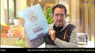 KIRAN KUMAR invites you all at the virtual launch of Advance PVC laminate