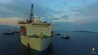 Petrobras Petrol Platformları Brezilya'dan İzmir'e getirildi.