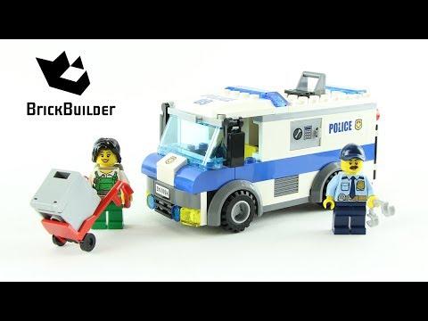 Vidéo LEGO City 60142 : Le convoyeur de fonds