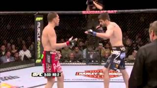 Nick Diaz Highlights 2013 (Anderson Silva)