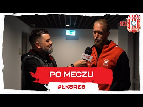 Wypowiedzi po meczu ŁKS Łódź - Apklan Resovia 0-3 [WIDEO]