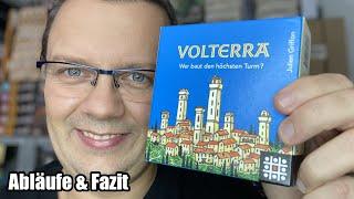 Volterra (Steffen Spiele) Taktisches Bauspiel für 2 Spieler - ab 8 Jahren