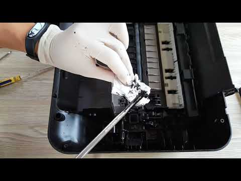 fixing FALSE error of paper jam HP Deskjet Printer