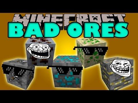 BAD ORES MOD - Los Ores mas RAROS y LOCOS de minecraft! - Minecraft mod 1.7.2 y 1.7.10 ESPAÑOL
