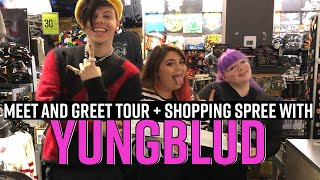 Yungblud Meet & Greet Tour + Sweeps Winner Shopping Spree | Hot Topic