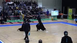 2019 전국체육대회 검도 남자대학부 준결승 - 서울 vs 경기