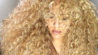 EASY CROCHET WEAVE BLONDE CURLY | MODEL MODEL HAIR