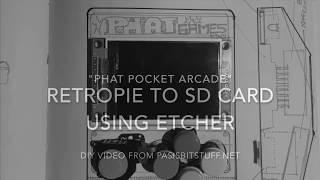 Building Phat Pocket Arcade: Case Assembly and RetroPie Modding