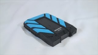 #1335 - ADATA DashDrive Durable HD710 External HDD Video Review