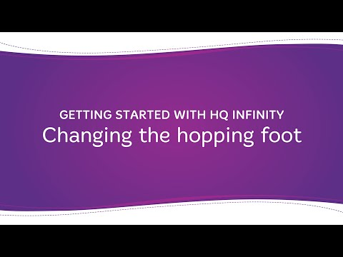 HQ Infinity - Changing the Hopping Foot
