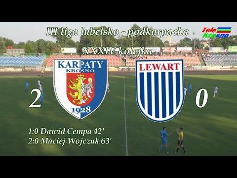 WIDEO: Karpaty Krosno - Lewart Lubartów 2-0 [SKRÓT MECZU]
