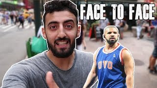 FACE TO FACE WITH DRAKE!!!