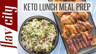 Keto Lunch Ideas For Work & School - Ketogenic Lunch Meal Prep