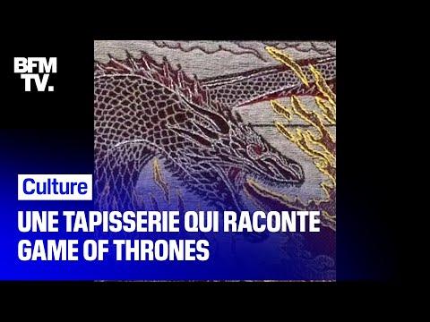 Une tapisserie qui retrace les 8 saisons de Game of Throne exposée à Bayeux