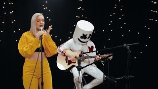 Marshmello & Anne Marie   FRIENDS (Acoustic Video) *OFFICIAL FRIENDZONE ANTHEM*