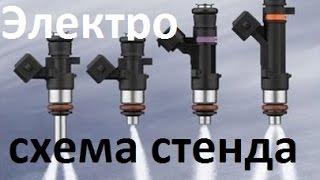Ответ по стенду для теста/промывки бензиновых форсунок.