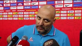 Saša Đorđević Nakon Poraza Srbije od Argentine u Četvrtfinalu Mundobasketa | SPORT KLUB Košarka