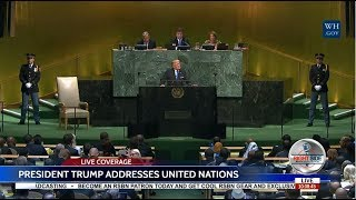 LIVE: PRESIDENT TRUMP SPEECH TO UN GENERAL ASSEMBLY 9/19/17 LIVE STREAM