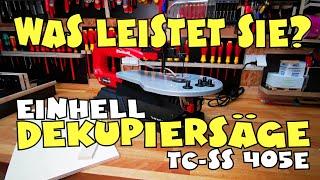 Hands on: Einhell Dekupiersäge TC-SS 405 E