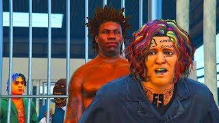 6IX9INE Get's His Gangsta tested in Jail #51 (REAL LIFE MOD)