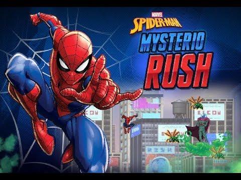 SPIDER-MAN: MYSTERIO RUSH (BROWSER GAME) - BEL GIOCO/NICE GAME