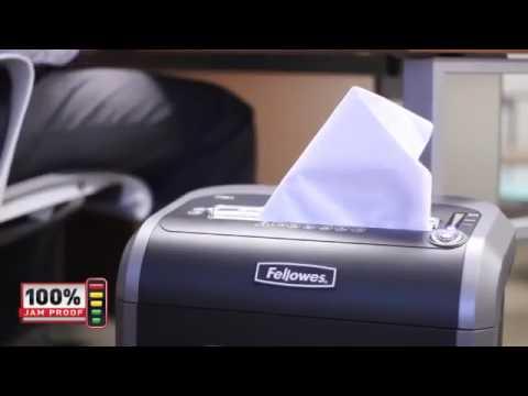 Video of the Fellowes Powershred W-81Ci Shredder