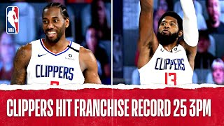 Clippers Set A Franchise Record 2️⃣5️⃣ 3PM!
