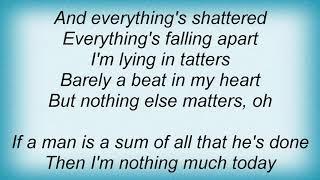Aqualung - Nothing Else Matters Lyrics