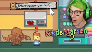 There's Aliens In the School!? & Secret Microwave Kitty Ending | Kindergarten 2 (Nuggets Mission)