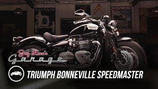 2018 Triumph Bonneville Speedmaster - Jay Leno