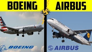 Boeing VS Airbus | Difference Between Boeing and Airbus in Hindi [2020]