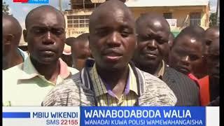 Wanabodaboda Kisii waonya polisi dhidi ya 'kuwahangaisha' na kuwashika ovyo ovyo