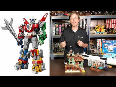 Lego Voltron Preview and Lego Ideas sets, Review, History, and Value