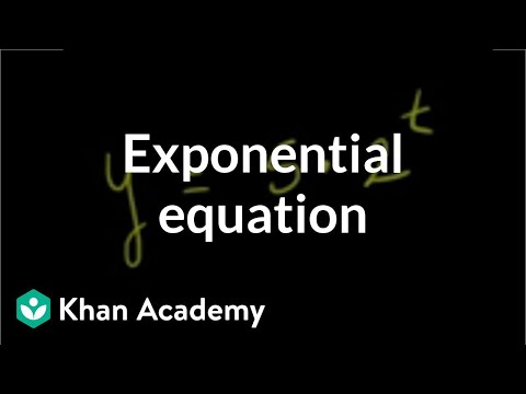 Solving exponential equations using logarithms: base-2 (video) | Khan  Academy