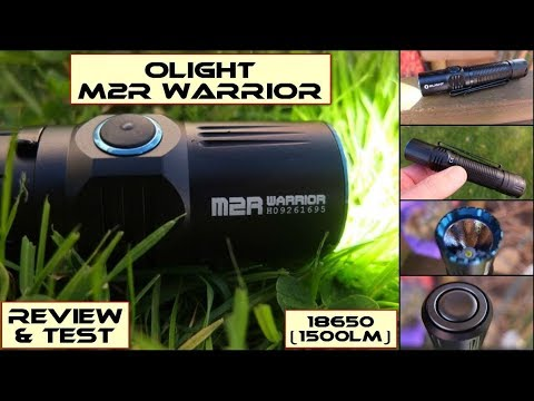 Olight M2R Warrior LED Torch/Flashlight: Review & Test