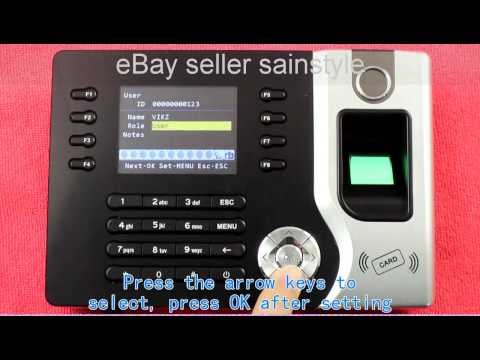 Realand Fingerprinter AC071 Video from eBay seller Sainstyle