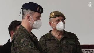 S.M. el Rey visita el Mando de Adiestramiento y Doctrina del Ejército de Tierra