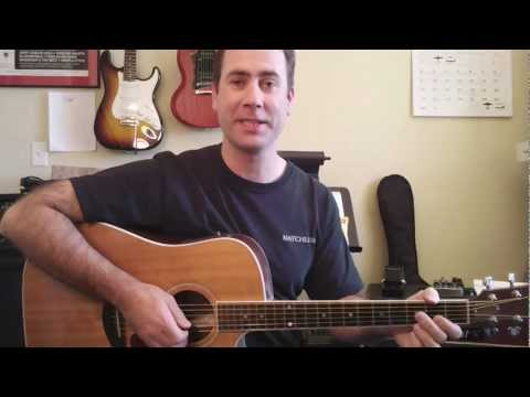 Easy Acoustic Guitar Lesson - The Most Popular Strum In The World
