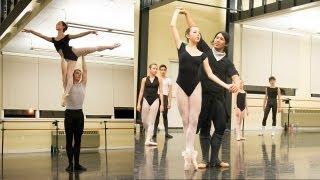 Inside our studio - Pas De Deux with Maxim Tchernychev - PDD Ballet
