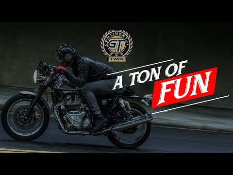 2019 Royal Enfield Continental GT 650 in Tarentum, Pennsylvania - Video 1