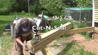 DIY Deck Part 3 - Building Beam & Installing Joists